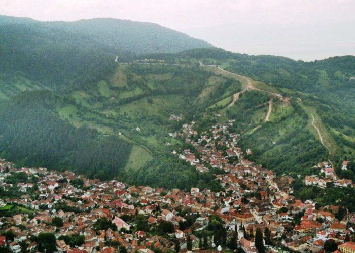 Brasov aerial photo