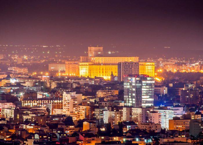 Bucharest Night View