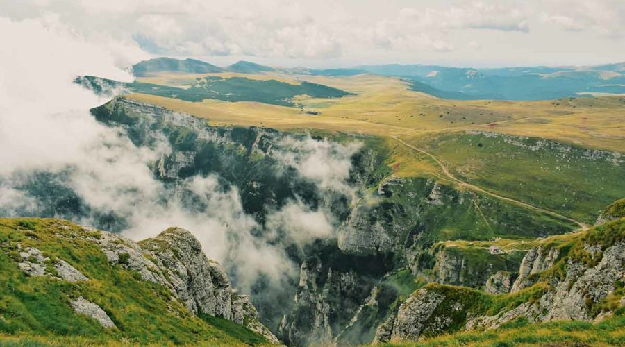 Mountain Landscape Romania